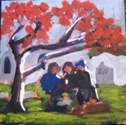 Friends in the Park, Pioneer Square - $ 95.00